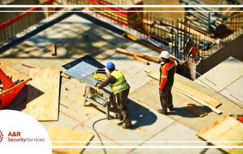 Construction Site, Construction Security, Construction, Construction Security Services, A&R Security Services, Security Services