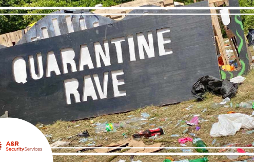Illegal Raves, Rave, Pandemic, Coronavirus, Music, Security, Unoccupied land, Empty Buildings